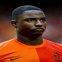 Jetro Willems of the Netherlands looks o